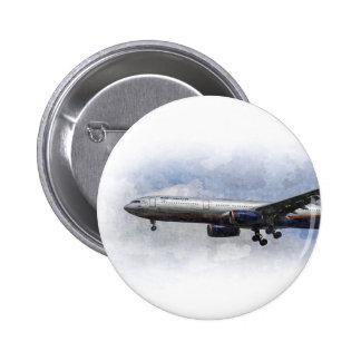Aeroflot Airbus A330 Art 6 Cm Round Badge