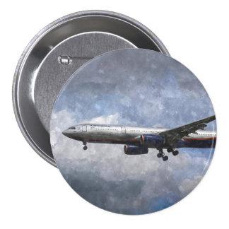 Aeroflot Airbus A330 Art 7.5 Cm Round Badge