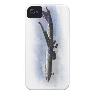 Aeroflot Airbus A330 Art Case-Mate iPhone 4 Case