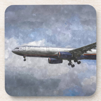 Aeroflot Airbus A330 Art Coaster