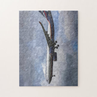 Aeroflot Airbus A330 Art Puzzle