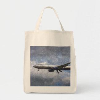 Aeroflot Airbus A330 Art Tote Bag
