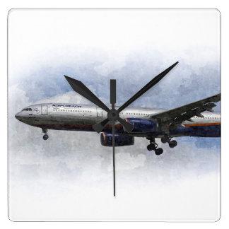 Aeroflot Airbus A330 Art Wallclocks