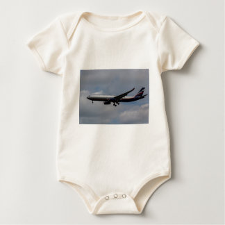 Aeroflot Airbus A330 Baby Bodysuit