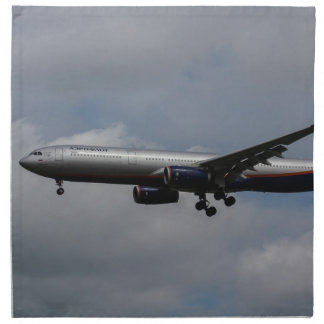 Aeroflot Airbus A330 Cloth Napkin