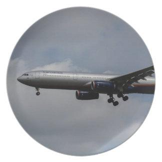 Aeroflot Airbus A330 Dinner Plate