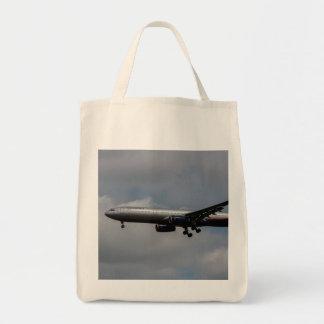 Aeroflot Airbus A330 Grocery Tote Bag