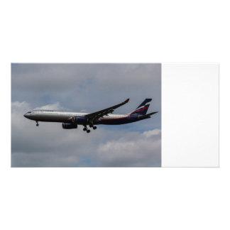 Aeroflot Airbus A330 Personalised Photo Card