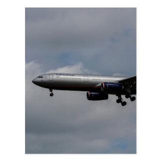 Aeroflot Airbus A330 Postcard