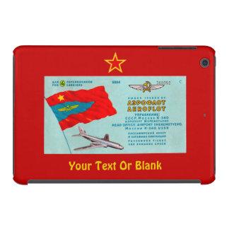 Aeroflot Passenger Ticket iPad Mini Cases