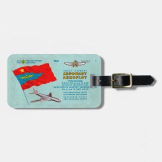 Aeroflot Passenger Ticket Luggage Tag