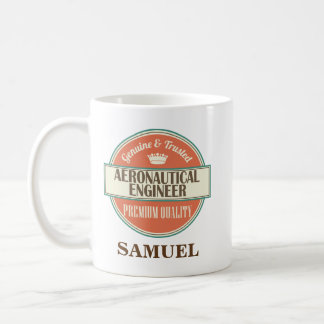 Aeronautical Engineer Personalized Office Mug Gift