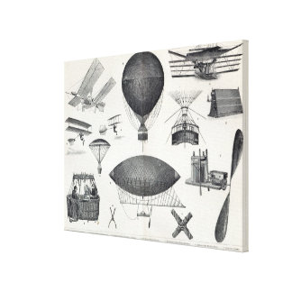 Aeronautics - Aerial Machines Canvas Print