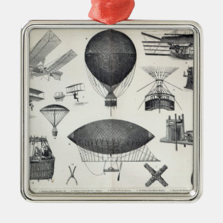 Aeronautics - Aerial Machines Christmas Ornament