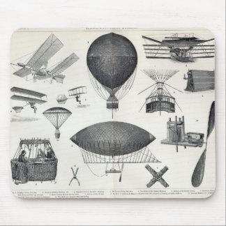 Aeronautics - Aerial Machines Mouse Mat