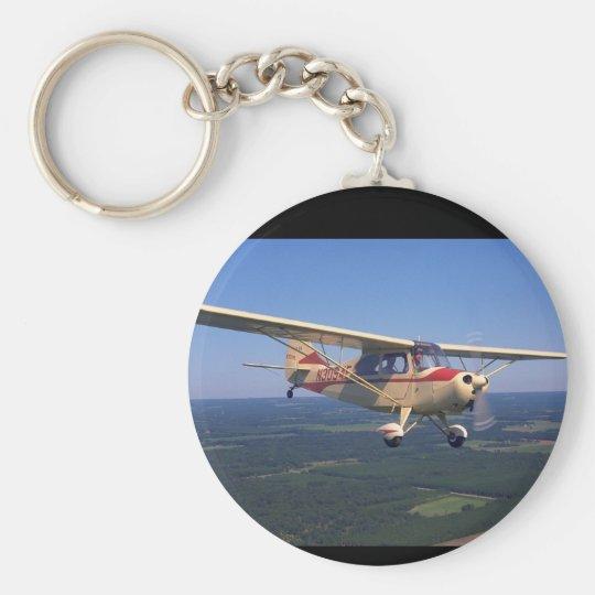 Aeronca, 7AC Champ, 1947_Classic Aviation Basic Round Button Key Ring