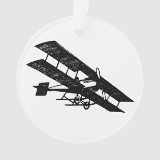 Aeroplane Aircraft Flying Machine Holiday Ornament