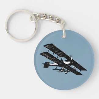 Aeroplane Aircraft Flying Machine Key Chain