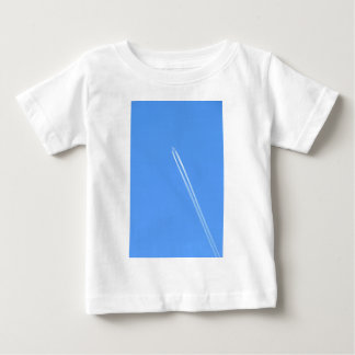Aeroplane and Vapour Trail Baby T-Shirt