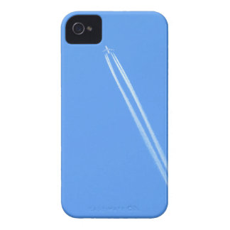 Aeroplane and Vapour Trail iPhone 4 Case-Mate Cases