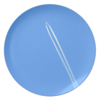 Aeroplane and Vapour Trail Plate