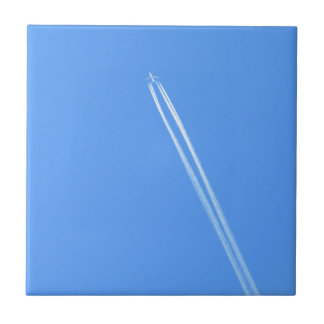 Aeroplane and Vapour Trail Tile