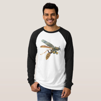 Aeroplane and Wasp Military long-sleeved T-shirt