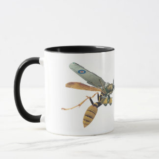 Aeroplane and Wasp Military Mug