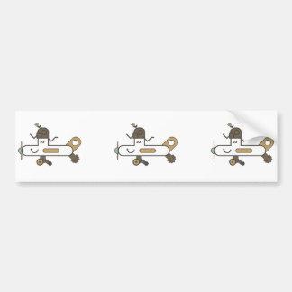 Aeroplane Bumper Sticker