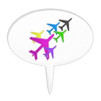 AEROPLANE cadeaux pour les enfants flotte d avion Cake Topper