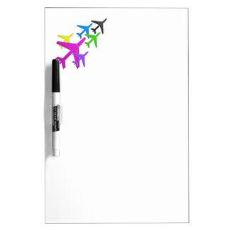 AEROPLANE cadeaux pour les enfants flotte d avion Dry Erase Whiteboards