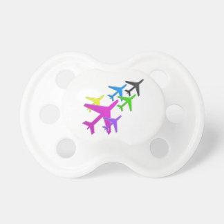 AEROPLANE cadeaux pour les enfants flotte d avion Baby Pacifiers