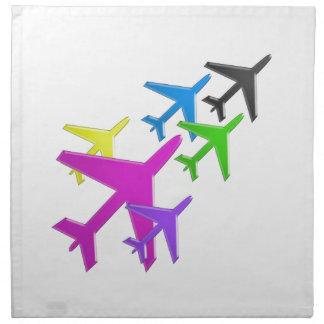 AEROPLANE cadeaux pour les enfants flotte d avion Napkins