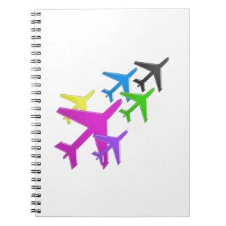AEROPLANE cadeaux pour les enfants flotte d avion Note Book