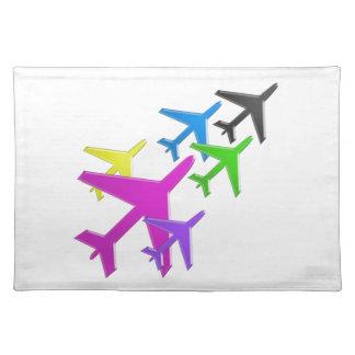AEROPLANE cadeaux pour les enfants flotte d avion Place Mat