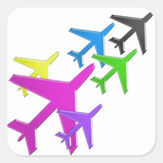 AEROPLANE cadeaux pour les enfants flotte d avion Sticker