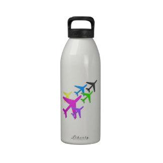 AEROPLANE cadeaux pour les enfants flotte d avion Reusable Water Bottles