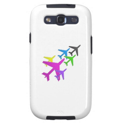 AEROPLANE cadeaux pour les enfants flotte d'avion Samsung Galaxy SIII Cover