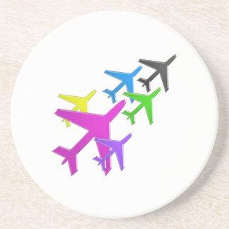 AEROPLANE cadeaux pour les enfants flotte d'avion Coasters