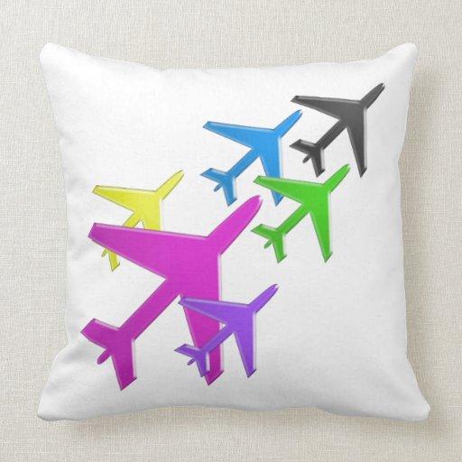 AEROPLANE cadeaux pour les enfants flotte d'avion Pillows