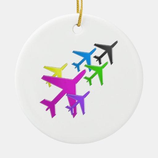 AEROPLANE cadeaux pour les enfants flotte d'avion Ornaments