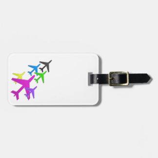 AEROPLANE cadeaux pour les enfants flotte d'avion Tags For Luggage
