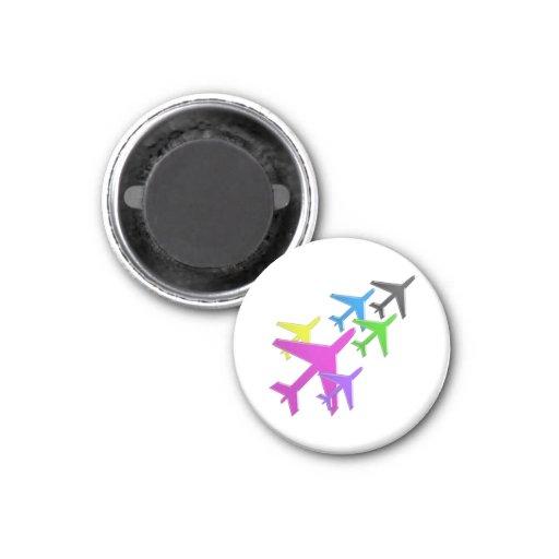 AEROPLANE cadeaux pour les enfants flotte d'avion Magnet