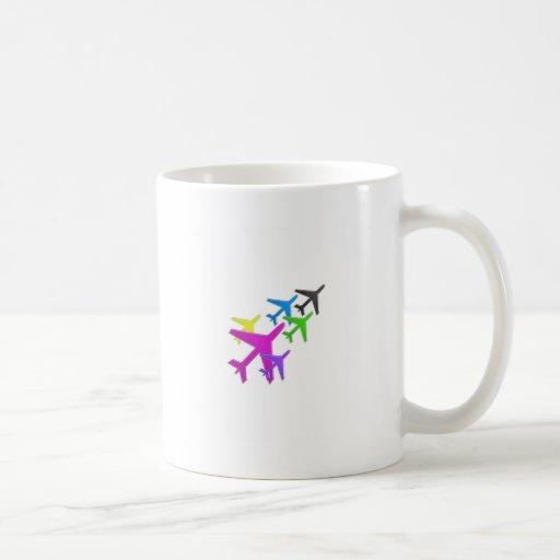 AEROPLANE cadeaux pour les enfants flotte d'avion Coffee Mugs