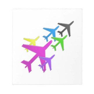 AEROPLANE cadeaux pour les enfants flotte d'avion Memo Note Pad