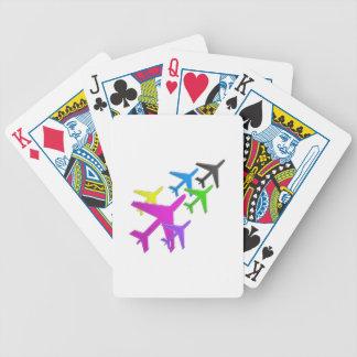 AEROPLANE cadeaux pour les enfants flotte d'avion Card Decks