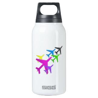 AEROPLANE cadeaux pour les enfants flotte d'avion 10 Oz Insulated SIGG Thermos Water Bottle