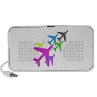 AEROPLANE cadeaux pour les enfants flotte d'avion Travelling Speakers
