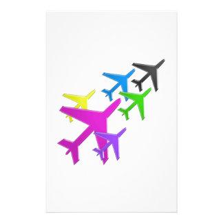 AEROPLANE cadeaux pour les enfants flotte d'avion Custom Stationery