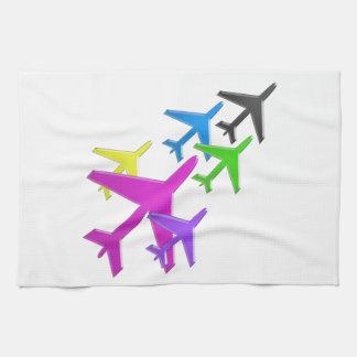 AEROPLANE cadeaux pour les enfants flotte d'avion Hand Towels